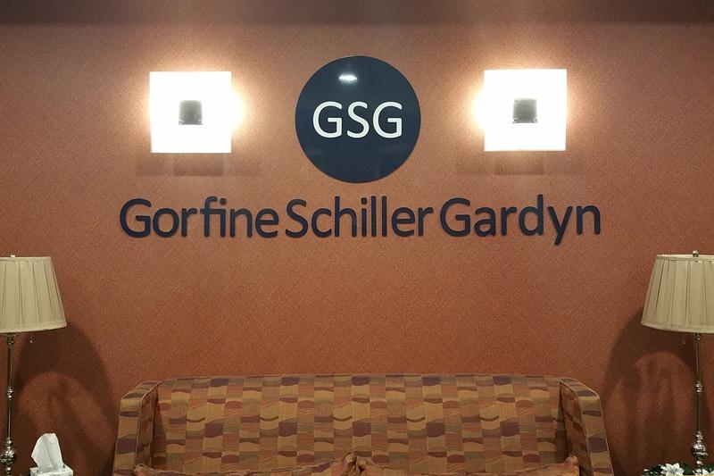 Gorfine  Dimensional Signage