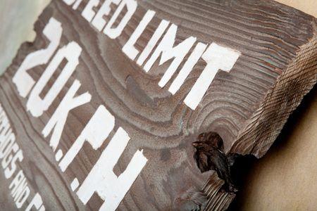 M3401 - Very Rustic Vintage Barnwood Sign for San Diego Zoo (Gallery 17)