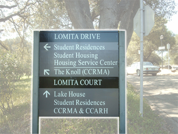 Directional Post & Panel Signs