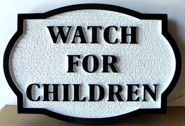 H17217 -Watch for Children Sign