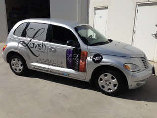 PT Cruiser vehicle graphics Orange County