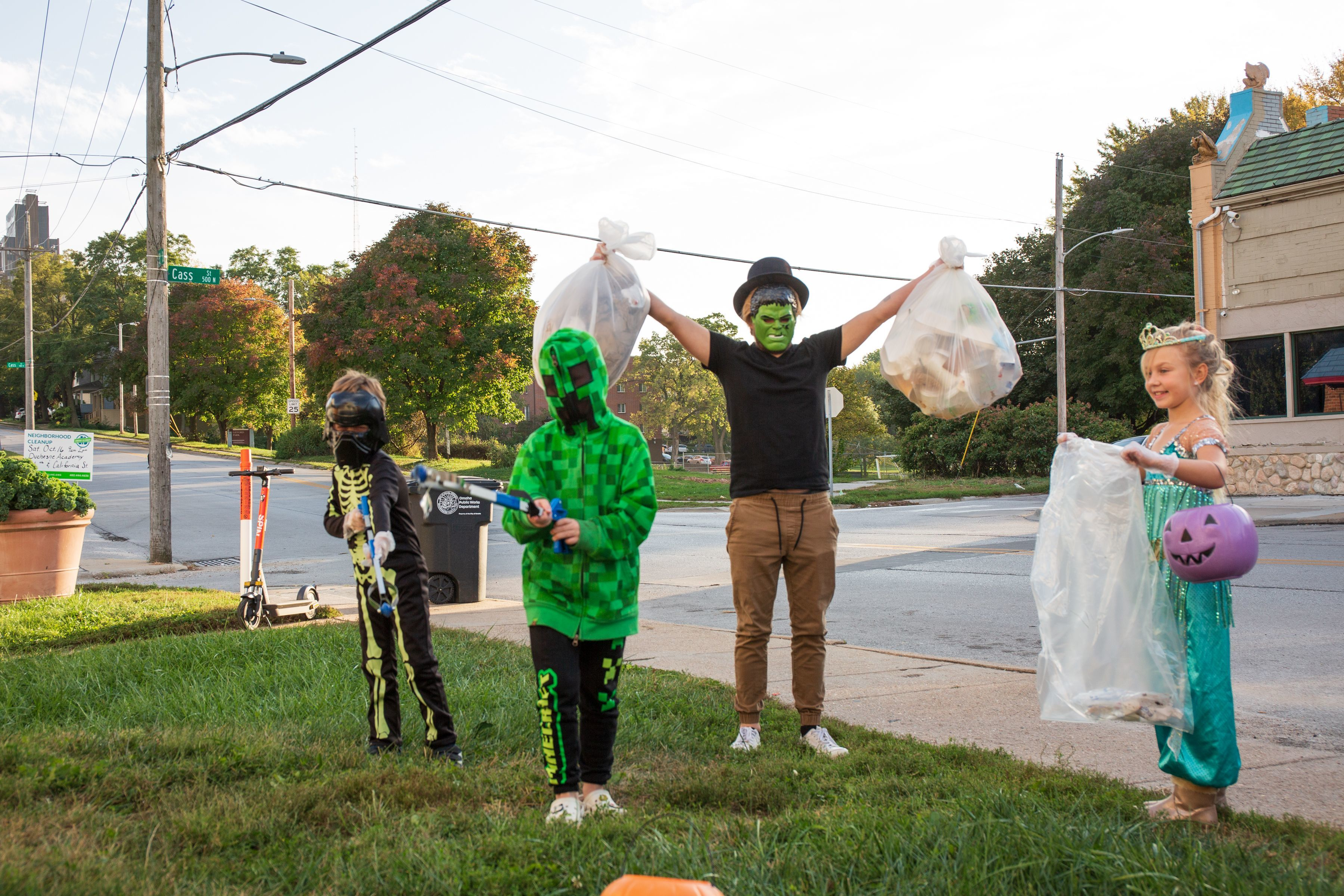 Spooky Cleanup