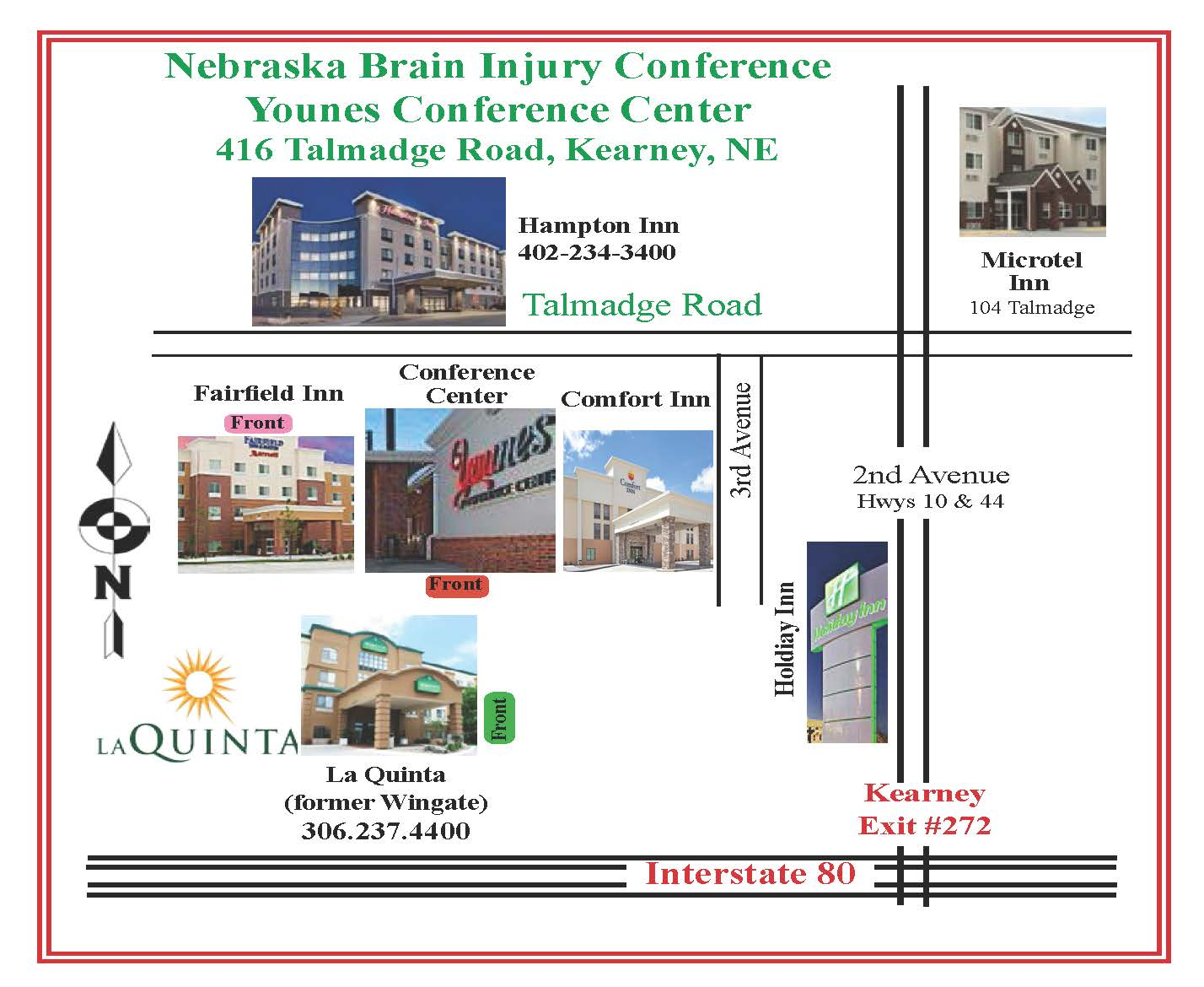 Download Conference Hotel Map (Above)