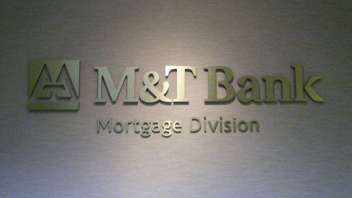 vM & T Bank Dimensional Lettering