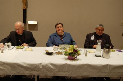 The Most Reverend David D. Kagan Makes Pastoral Visit to St. Alexius Medical Center