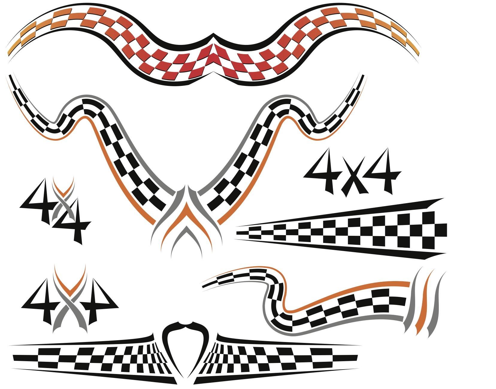 Racing Stripes Decals Racing Stripes Decals