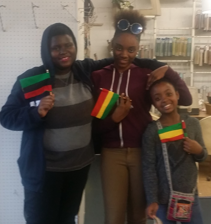 Black Home School Girls