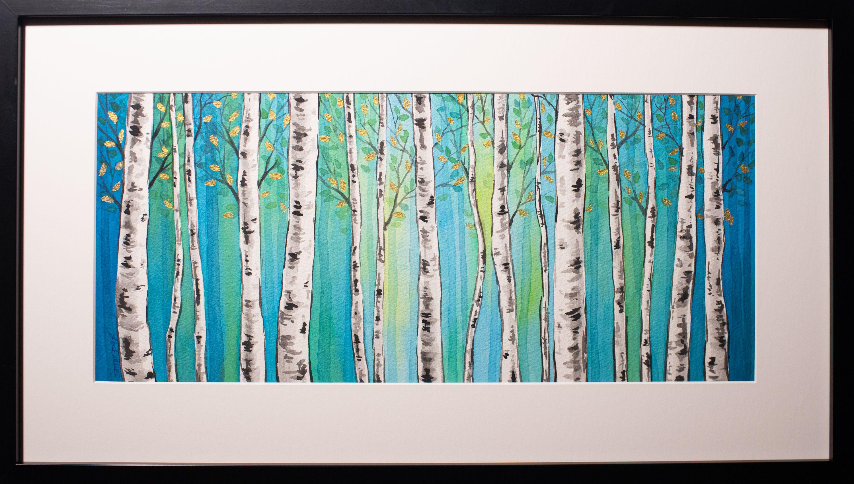 """Lori Orlowski - """"Between the Trees'"""