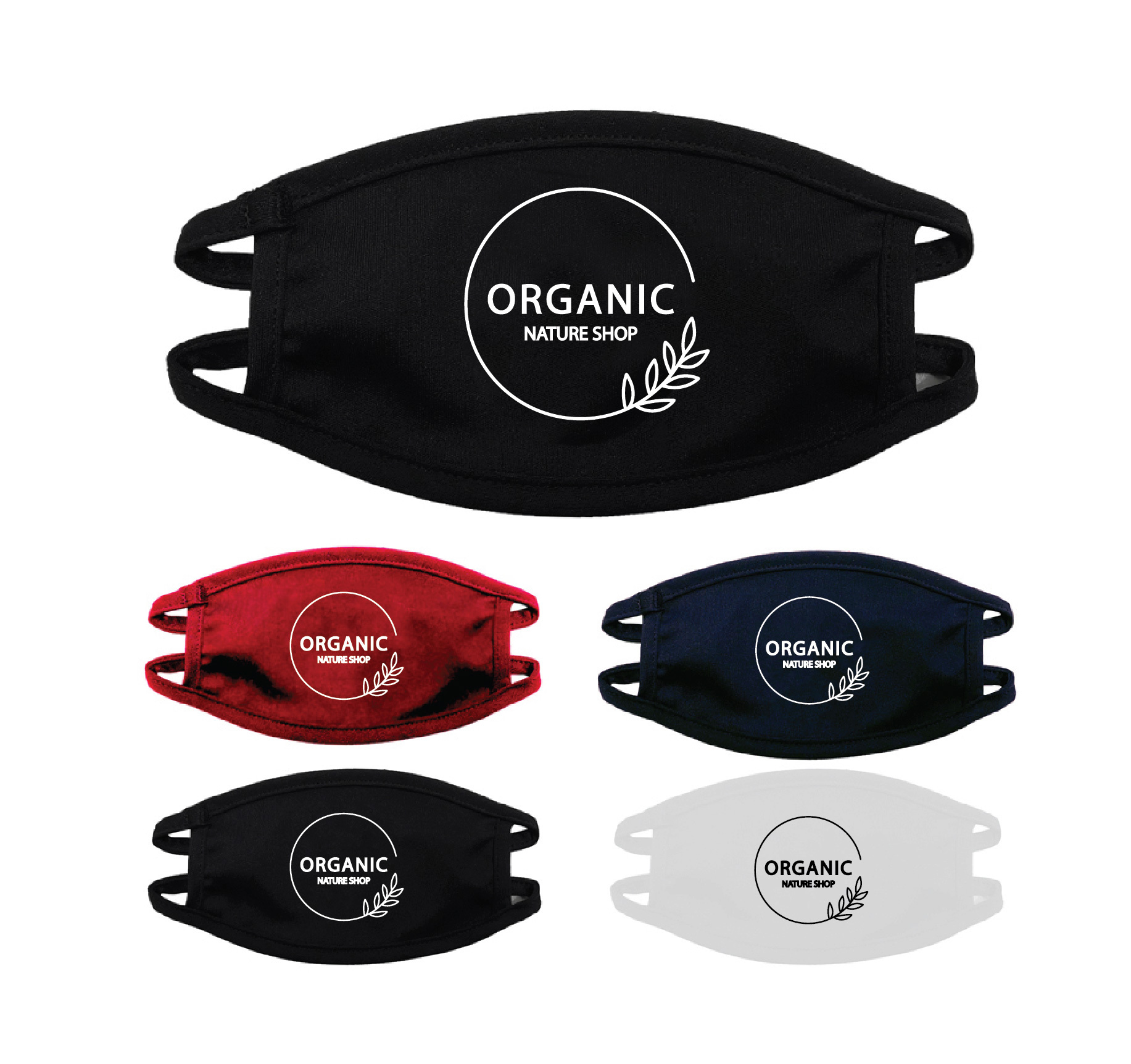 04 YOUTH Reusable Face Masks with Imprint