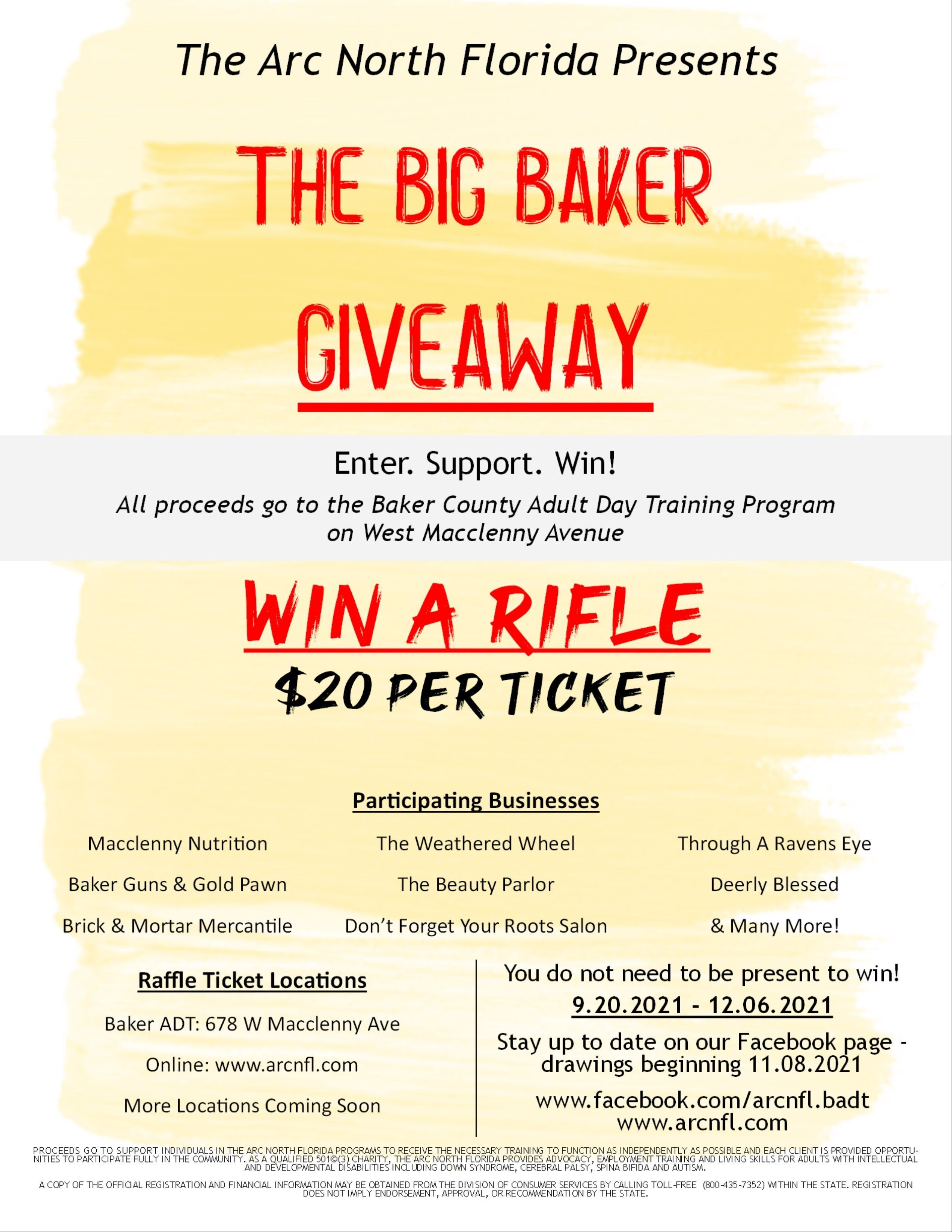 The Big Baker Giveaway is here!