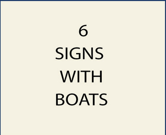 6. M22500 - Signs with Boats