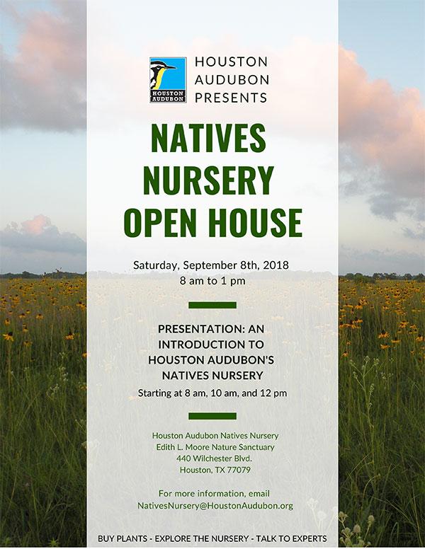 Natives Nursery Open House