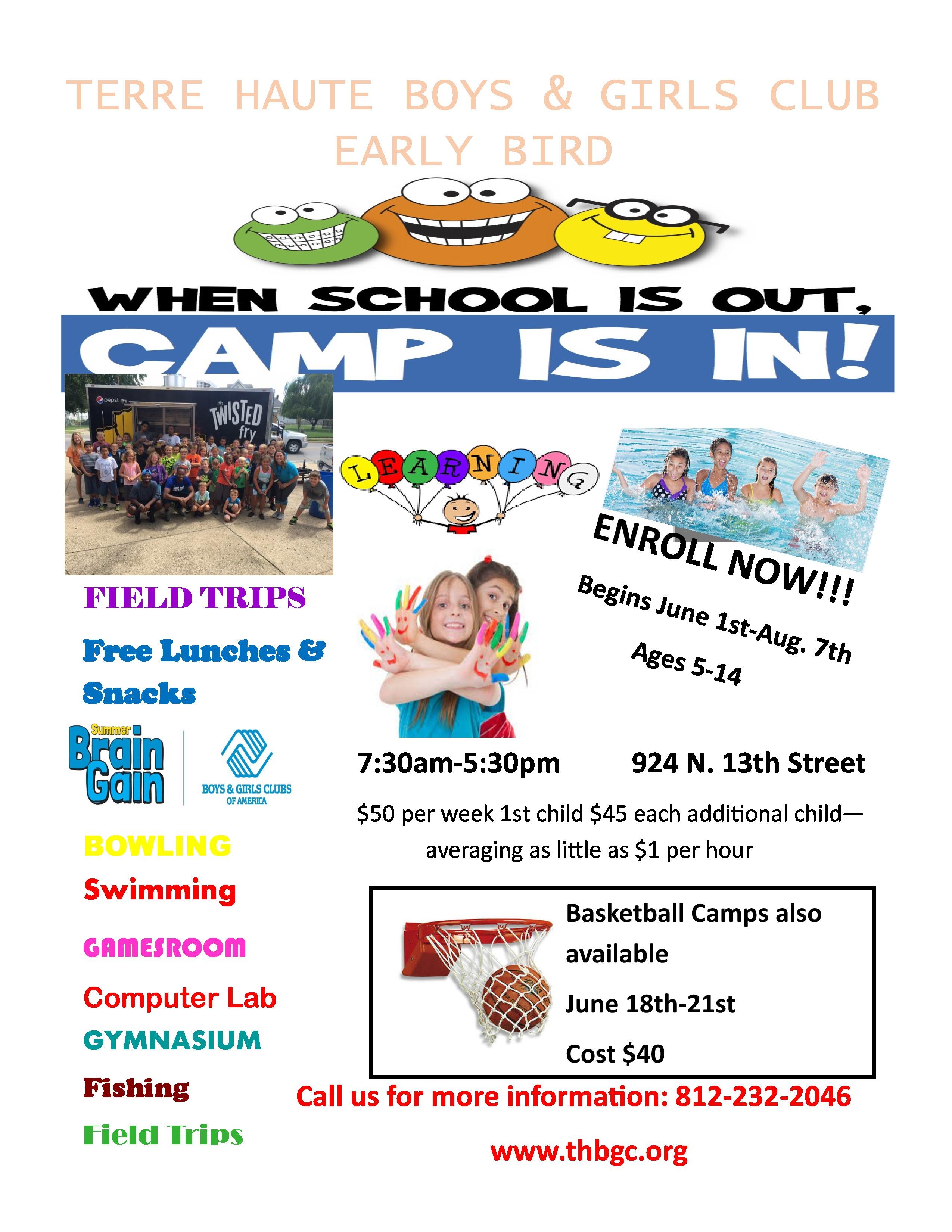 Terre Haute Boys Girls Club Programs Program Information