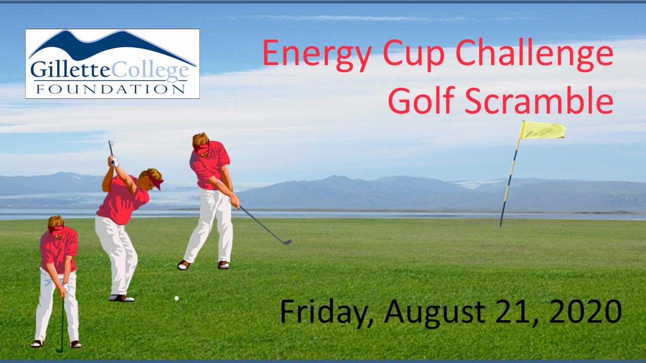 19th Annual Energy Cup Golf Scramble