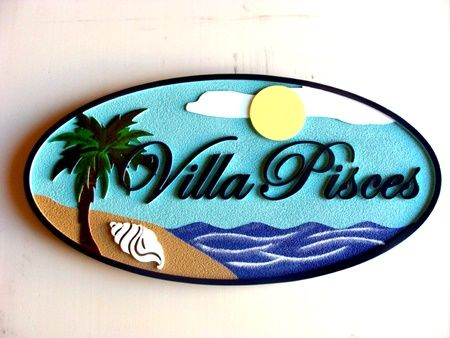 M1008 - Beach House Sign (Gallery 20)