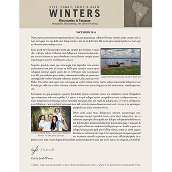 Newsletter/Annual Reports