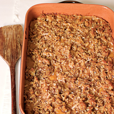 Coconut-Crumble Sweet Potatoes