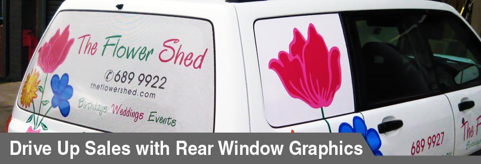 Rear Window Decals