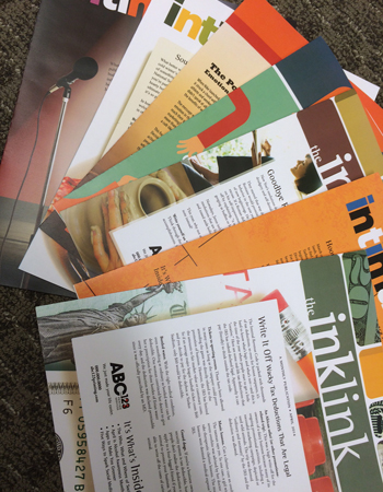 Newsletters - Full Color, 4 pages folded