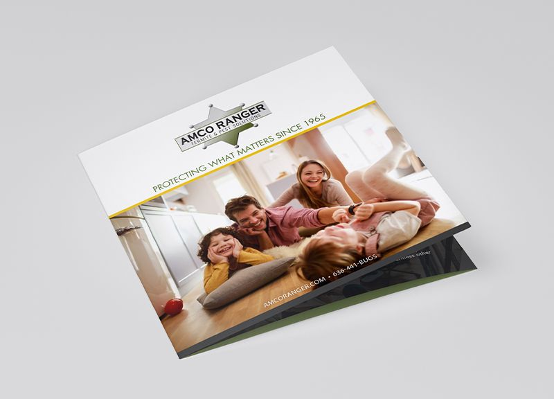 Square Brochure | Front