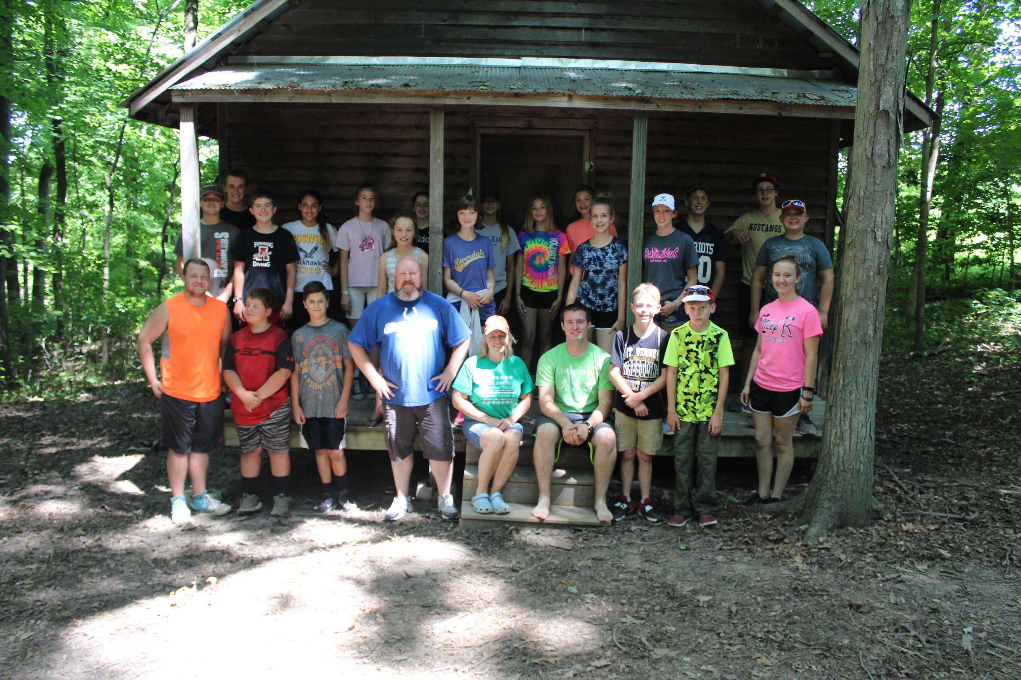 Jr High Wilderness Camp