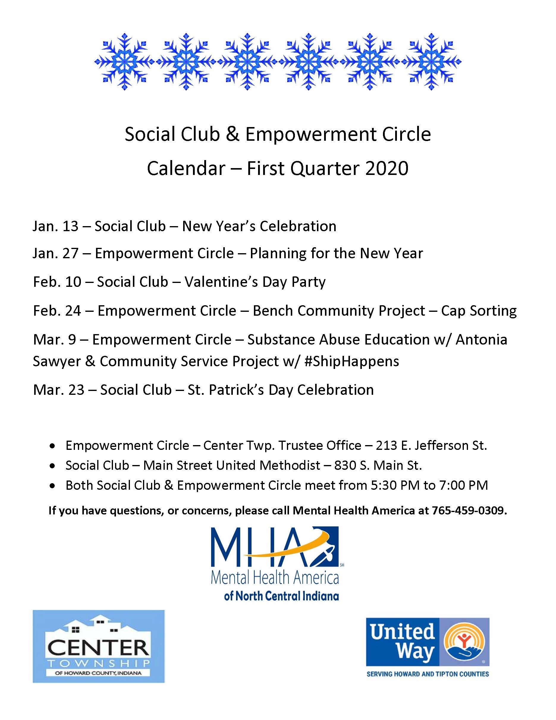 Empowerment Circle - Planning Meeting
