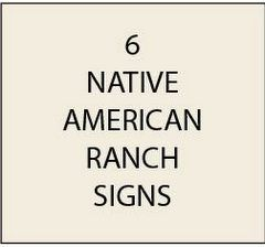 O24350 - Native American Signs