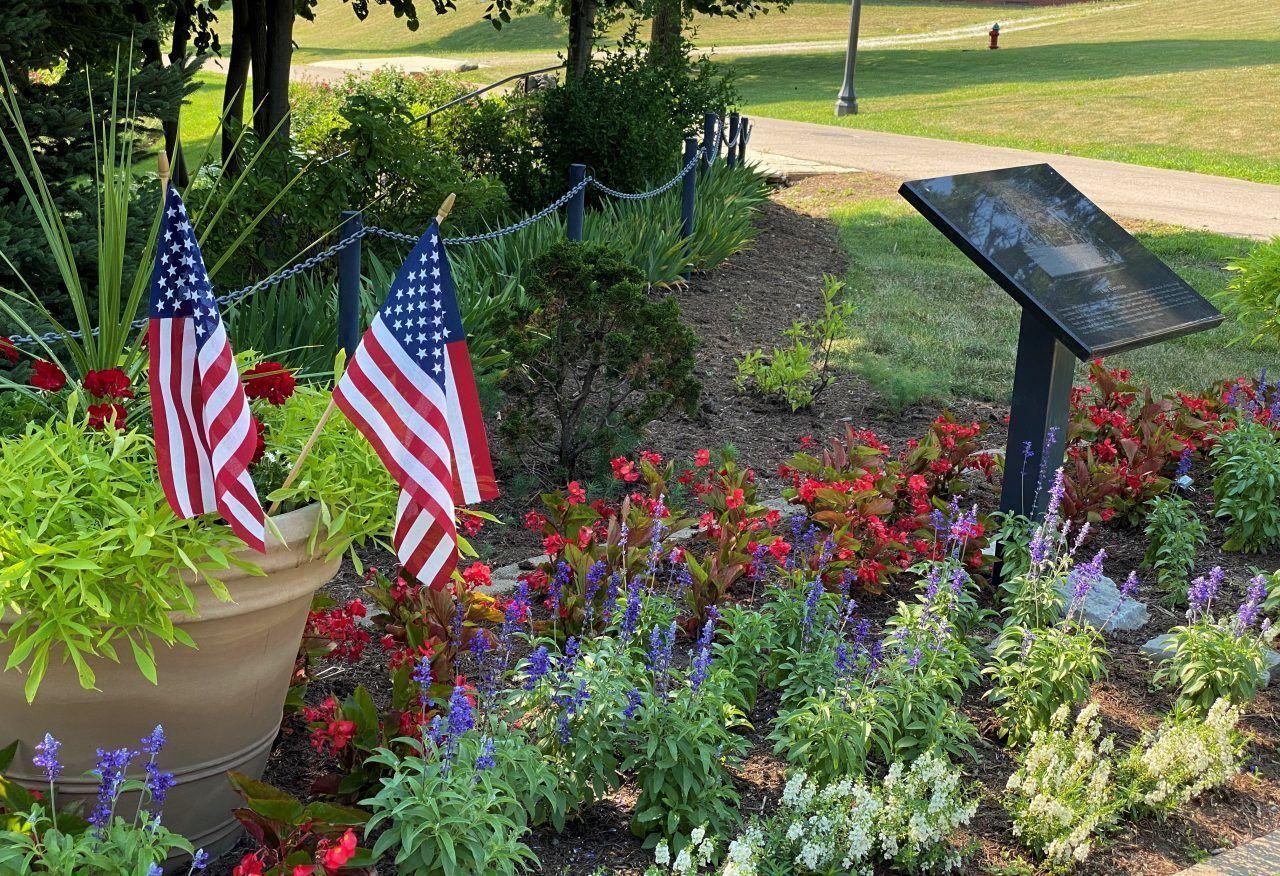 1. Frank Mundt Memorial Garden
