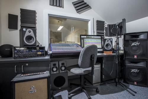 Check out our Recording Studio