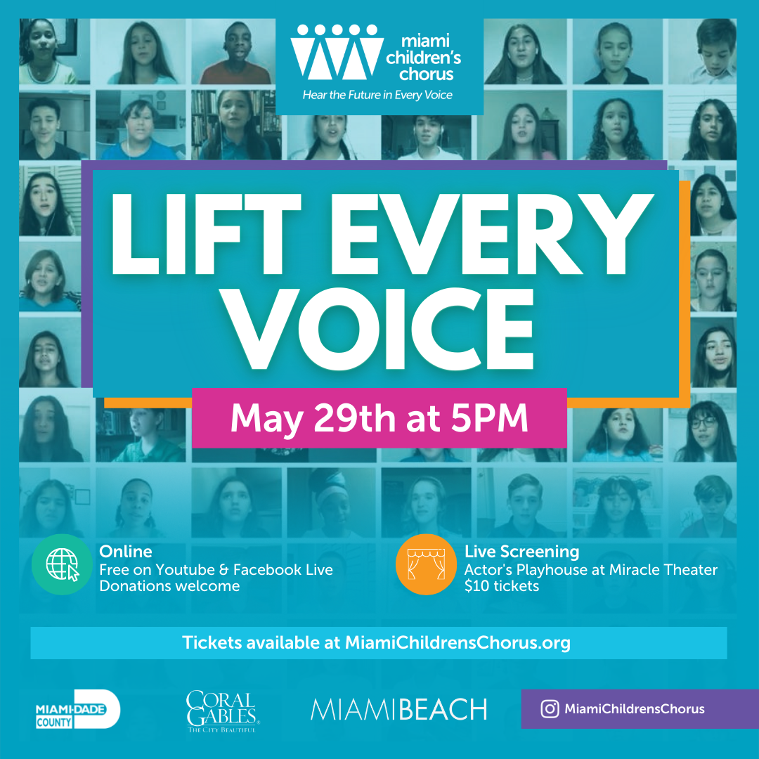 Save the Date: Lift Every Voice - 2021 Virtual Spring Concert