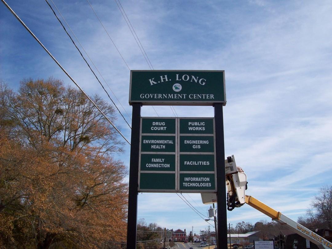 Dawson County Government Center Reface