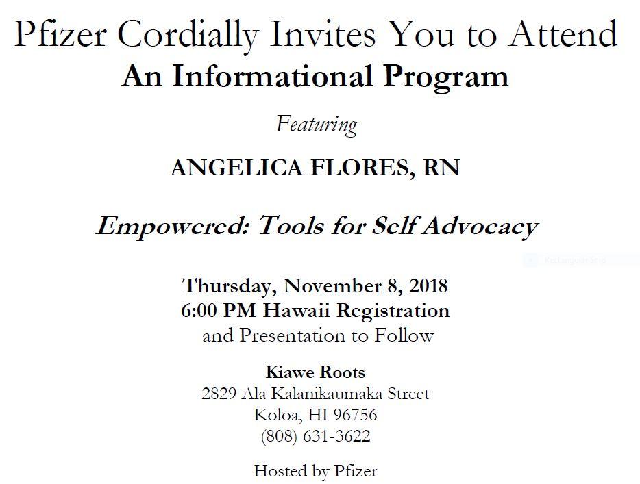 Kauai Education Dinner / HTC Outreach