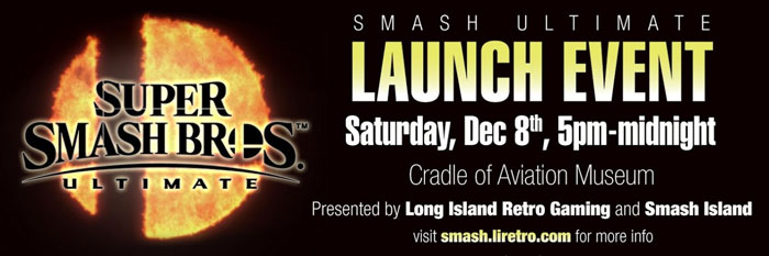 Smash Ultimate Video Game Launch Event