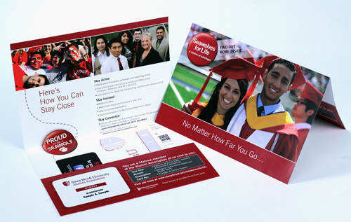 New Alumni ID Card Mailers