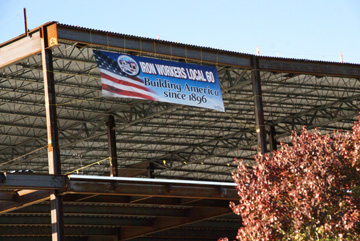 Ironworkers Banner