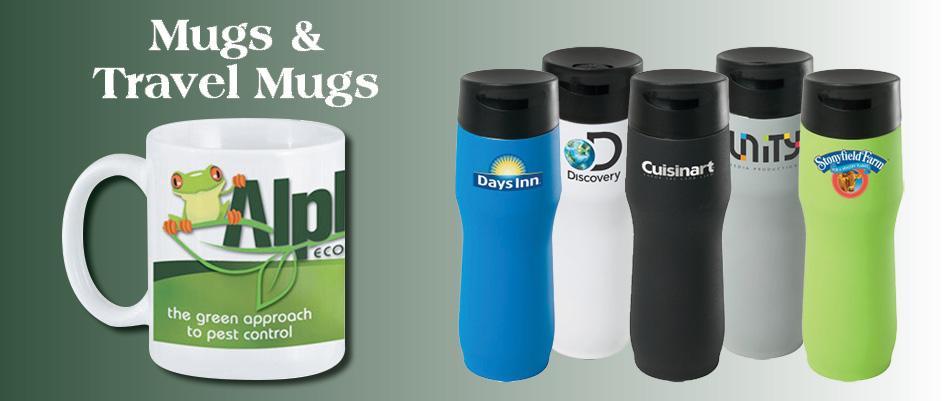 Mugs and Travel Mugs