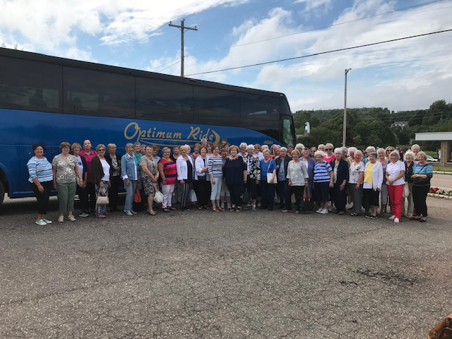 Women's PROBUS Club of South East NewBrunswick trip to PEI