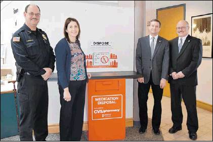 Drug Drop Box at Niskayuna Town Hall