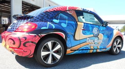 Volkswagon Beetle Wrap