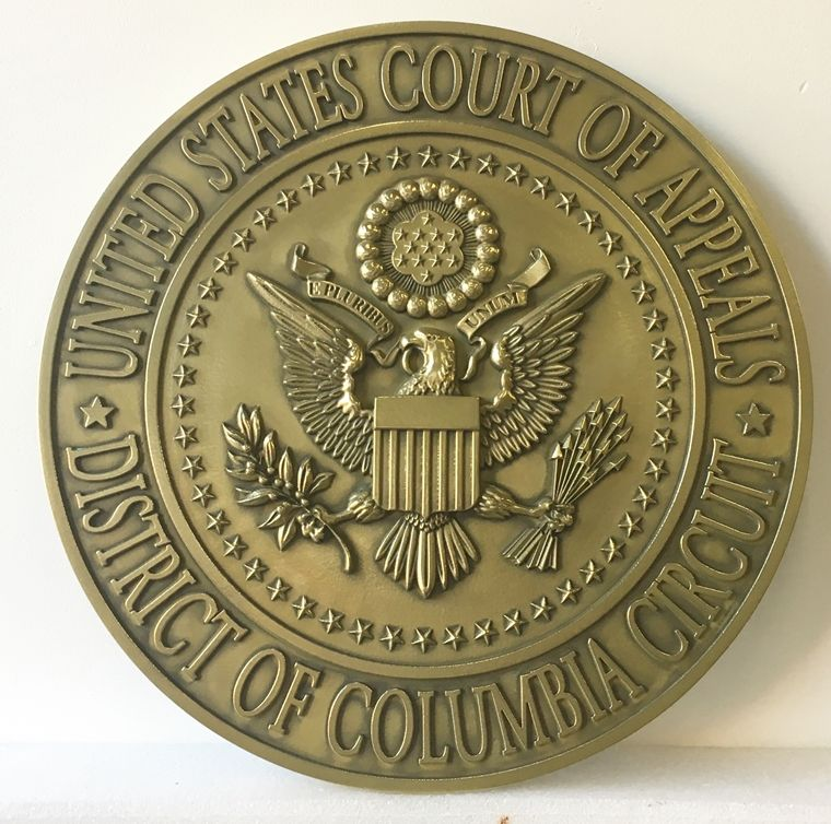 MB2040 - Seal of Federal  Court of Appeals, 3-D