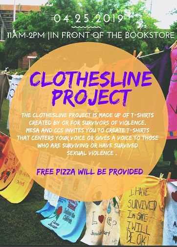 Clothes Line Project at Miramar College
