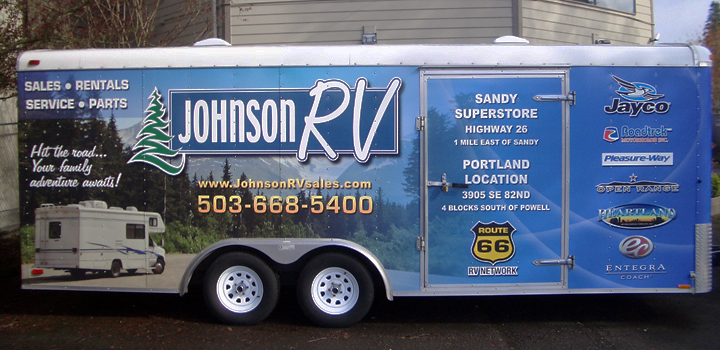 Johnson RV Trailer Wrap