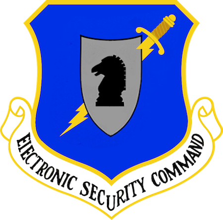 1985: Electronic Security Command took over USAF COMSEC mission.