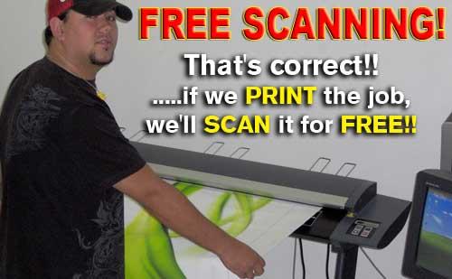 Scanning - Large Format