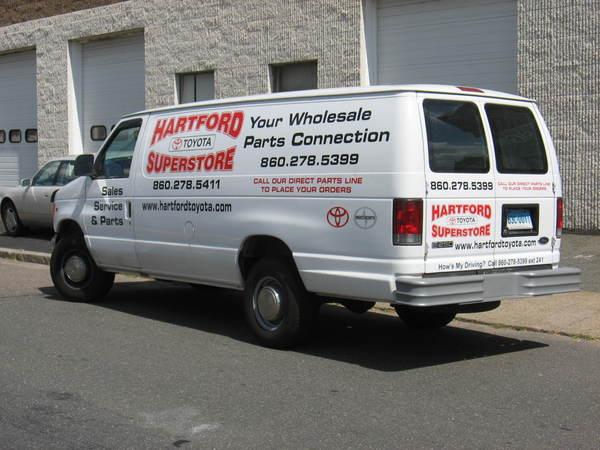 Fleet Graphics, Ford Econoline Van, Lettering & Graphics