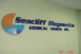 SEACLIFF LETTERING