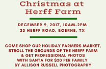 Christmas at the Farm w/ special Holiday Market