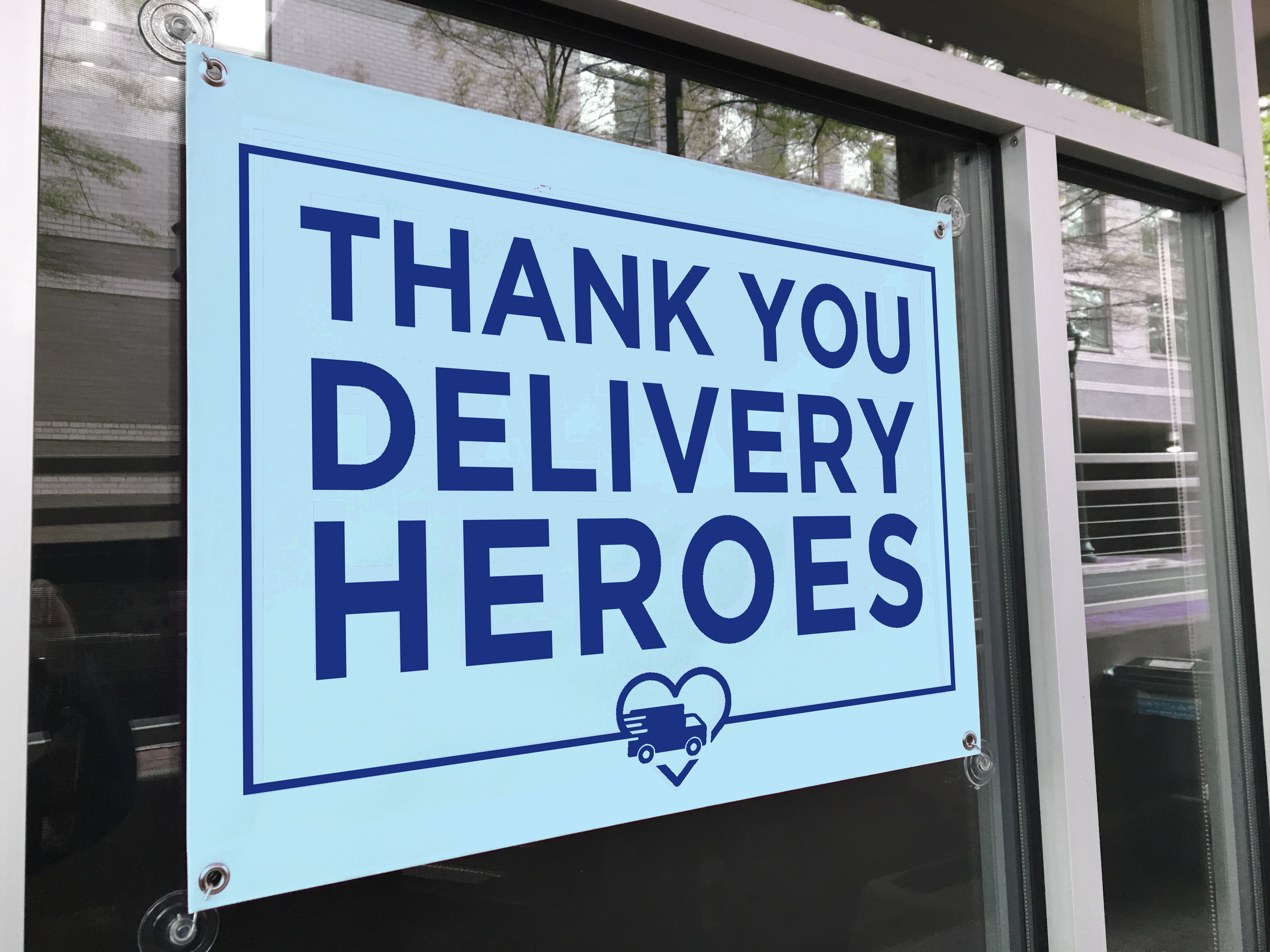 Delivery Heroes Banner
