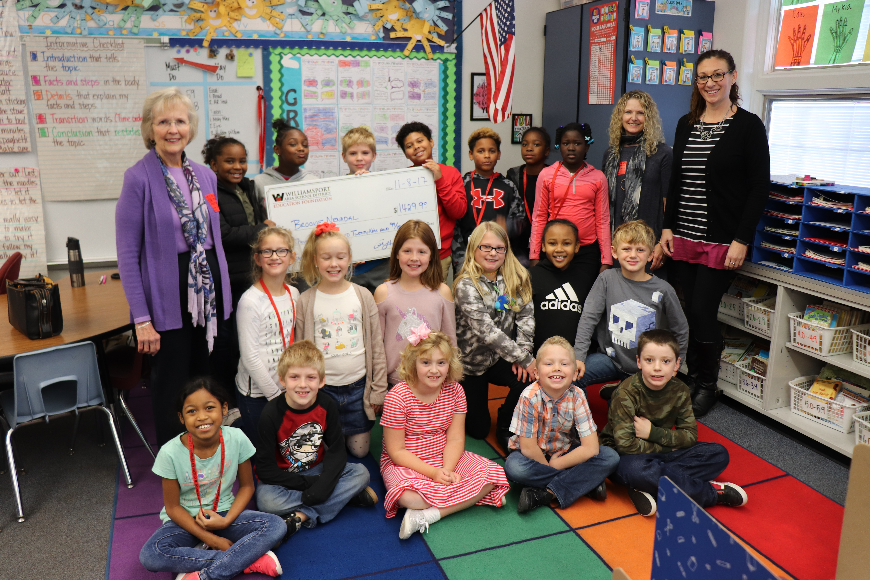 WASDEF Grants $6,401 to Classroom Programs