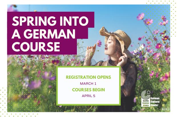 Spring into a German course